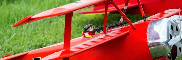 Important Parts and Equipment of an RC Plane Major Parts - Important Parts and Equipment of an RC Plane